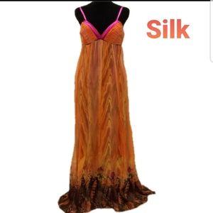 Marciano NWT Silk Dress sz M